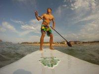 划桨冲浪桌