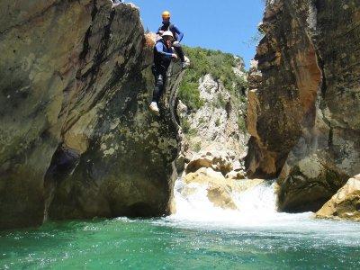 Barranquismo acuático nivel III, Sierra Guara