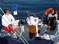 Un tranquilo dia de navegacion