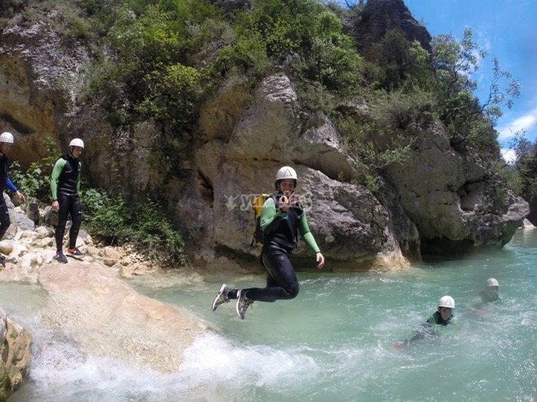 Salto de Barranquismo