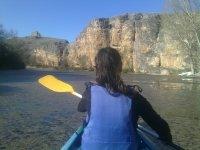 Paseo en piragua por río Duratón