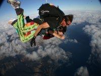 Salto tándem en paracaídas Gran Canaria