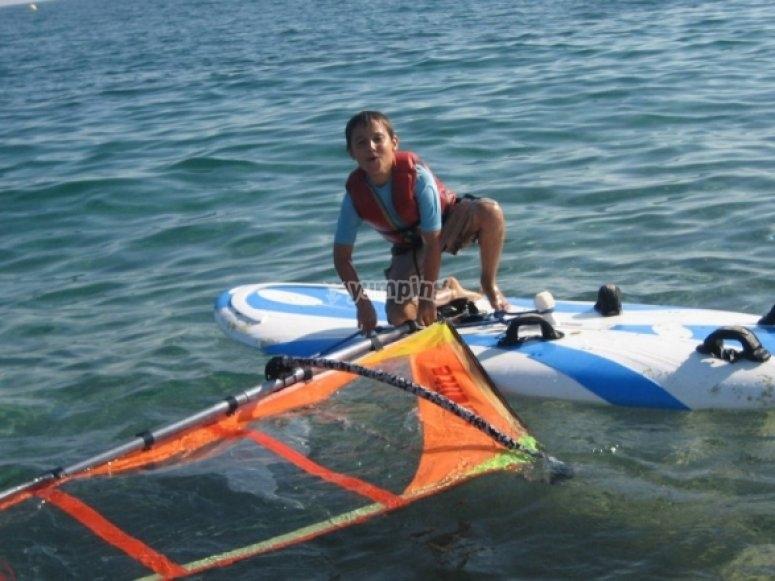 Windsurf tuition
