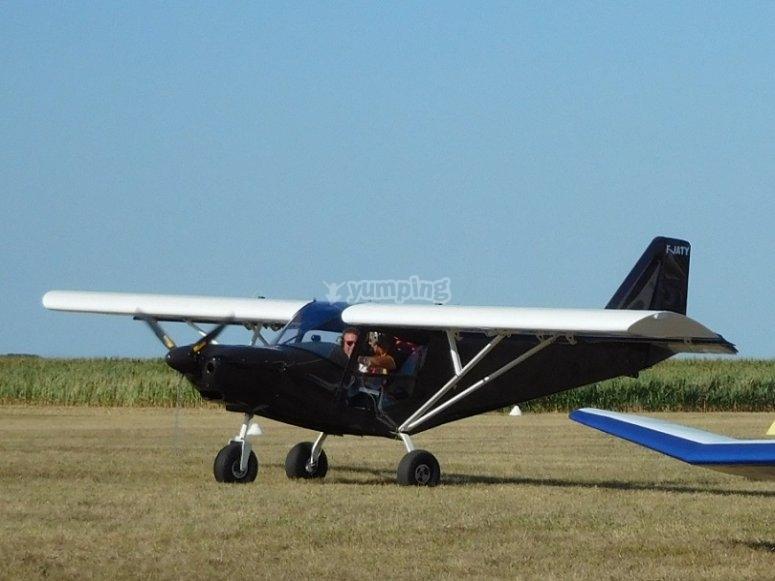 atterraggio aereo