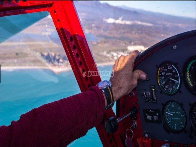 在瓦伦西亚试飞一天