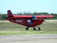 Fly on a light aircraft on ICP Savannah S