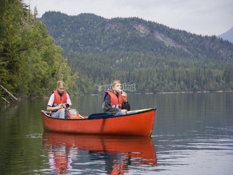 Canoa por el Montsec