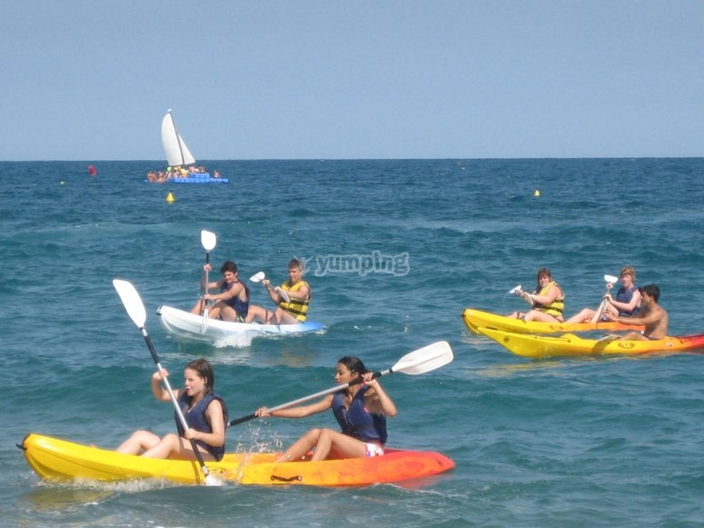 海上皮划艇