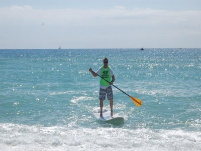 SUP Equipment Rental in Calella, 1h