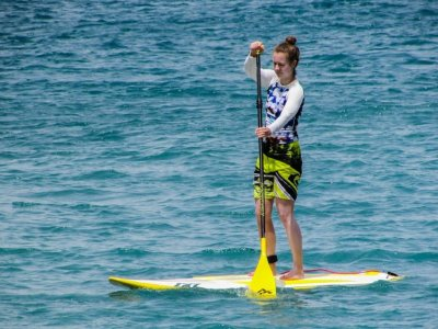 Rent SUP Equipment in Calella, 2h