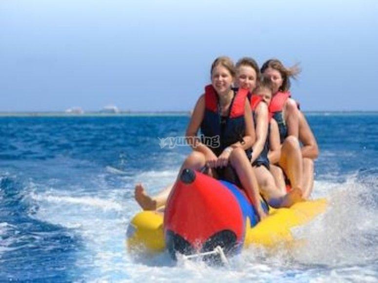 Actividades en Banana boat