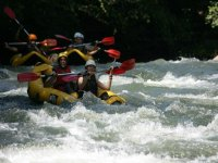 Rafting descent in Cantabria