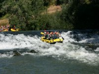 Whitewater rafting in Cantabria