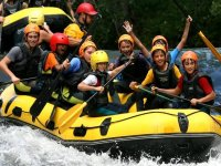 Rafting for children in Cantabria