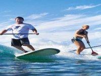 Alquiler material Paddle Surf 1 hora Playa Cristal