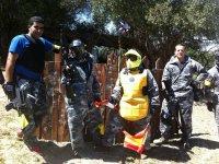 加彩弹射击游戏在希梅纳de la Frontera的在加的斯旅行