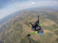 Paragliding in the Huesca mountains