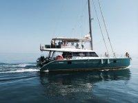 Barco en travesia