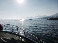 Viendo la costa a bordo