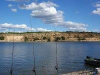 vista canas pescar