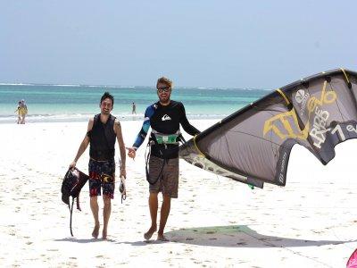 3 días curso de kite + 3 noches, octubre-marzo