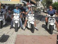 Alquiler de scooter 125 cc en Alicante