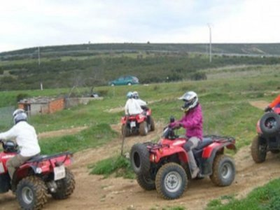 3h Quad tour in Sierra Norte