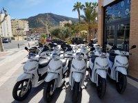 Scooters en El Albir
