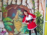 Caperucita con el dragon
