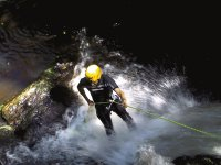 Rappel nel canyoning Asturie