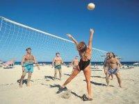 Giocare sulla sabbia