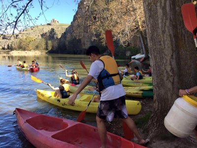 1-Day Canoeing for Adults in Hoces del Duratón