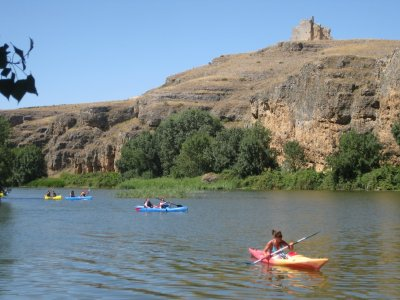 1-Day Canoeing for Children in Hoces del Duratón