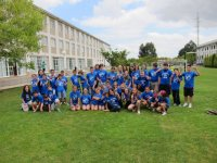 Alumnos camiseta azul