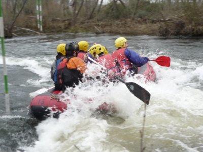 Descenso de rafting en el Alto Tormes, Gredos