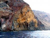 蓬塔米格尔高耸的悬崖