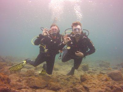 Diving baptism + 1 dive in Tenerife