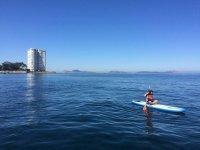 Sesion de paddle surf