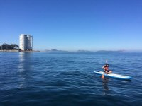 Paddle surf session