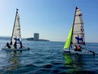 Sail session