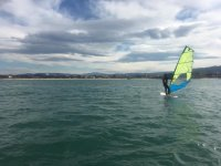 Windsurfing session