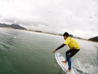 Avanzando en la ola