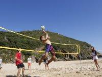 Jugando al volley