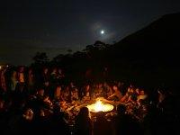 Reunidos alrededor del fuego