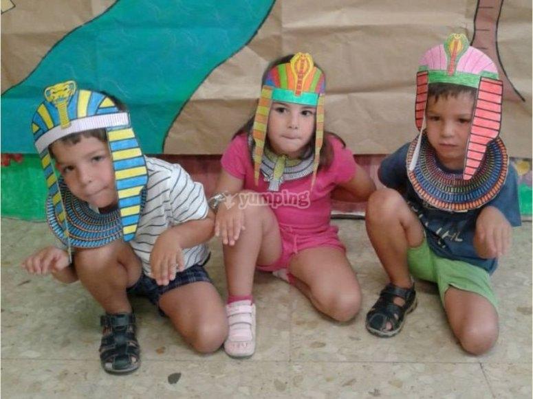 Egipcios en Vigo