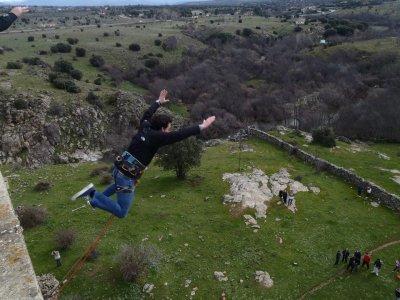Puenting vídeo y fotos profesional sierra Madrid