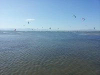 Our kitesurfing learning area