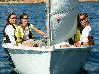 Sail with sailing dinghies