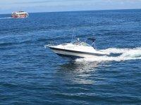 Boat in Santander