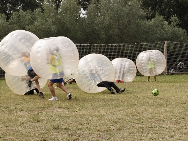 Paintball Bubble soccer